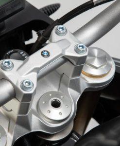 BMW F 850 handlebar risers silver